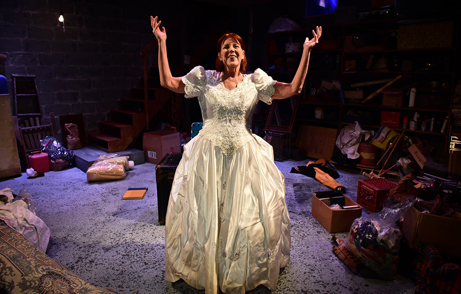 Greenhouse Theater Center's <i>Her America</i>, part of its Solo Celebration