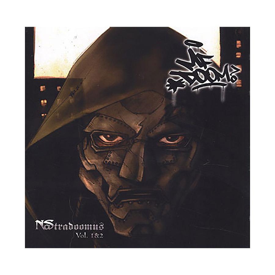 The cover of the fan-made Nas/MF Doom mashup <i>Nastradoomus</i>