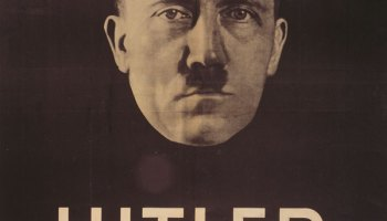 Election poster, 1932