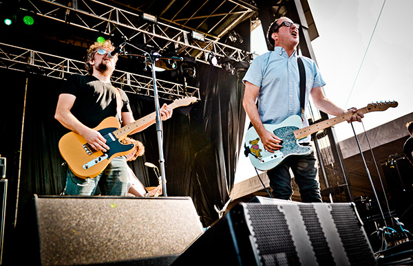 The Hold Steady at this year's Riot Fest