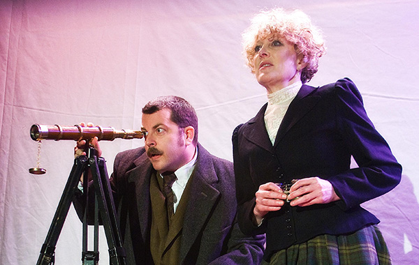 Idle Muse's <i>The Hound of the Baskervilles</i>, at EDGE Theatre