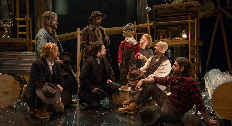Pigpen Theatre Co.'s <i>The Hunter and the Bear</i>, at Writers Theatre