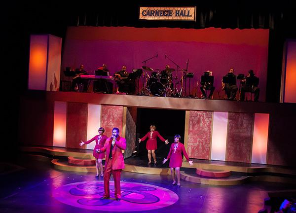 Black Ensemble Theater's <i>I Am Who I Am: The Teddy Prendergrass Story</i>