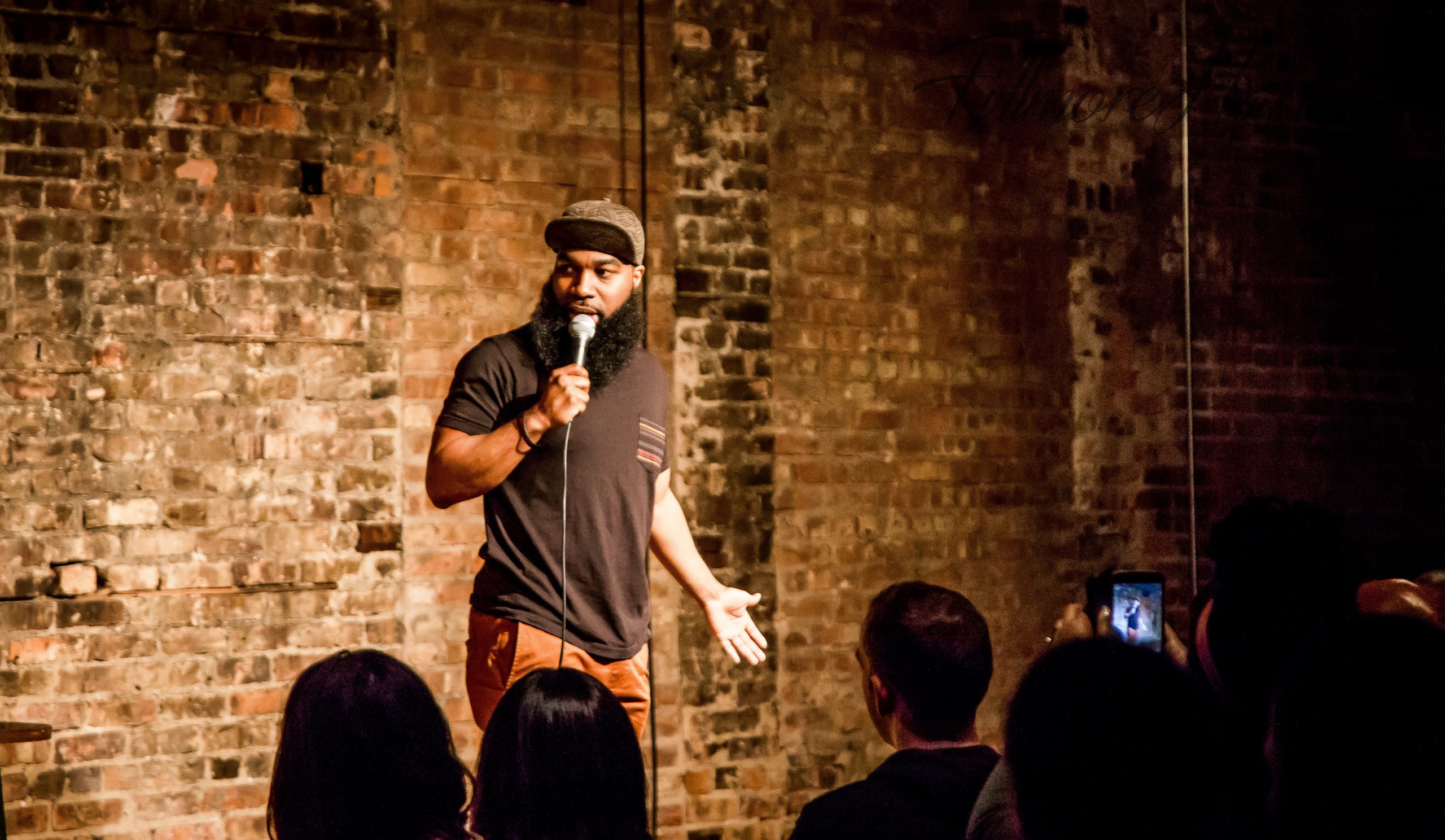 T. Murph, a rising star in the Chicago stand-up scene, hosts Faded on Saturday 12/2.