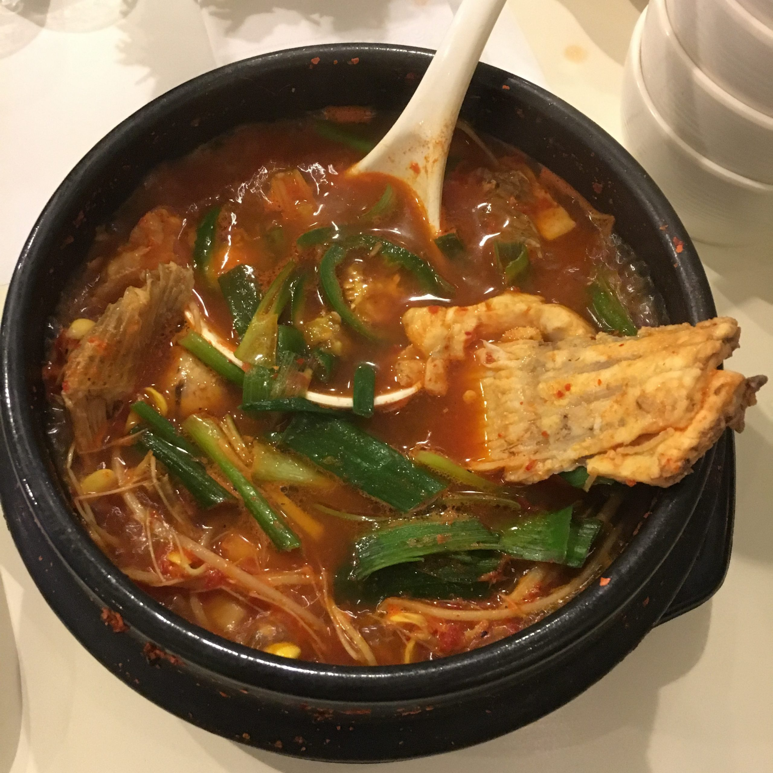 Fish stew at Shiroi Sushi