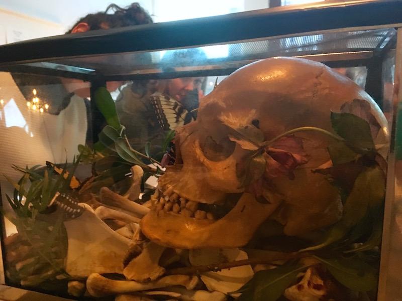 The death component of Joshua Kent's presentation