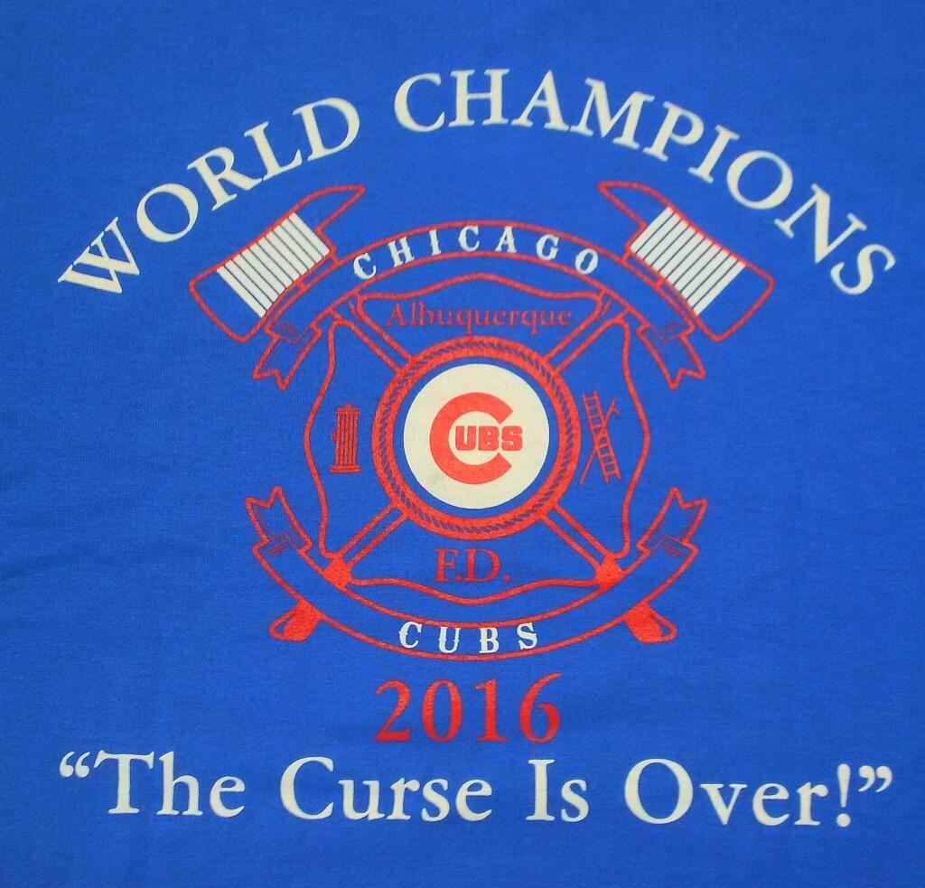 Garcia's World Series Albuquerque FD T-shirt design
