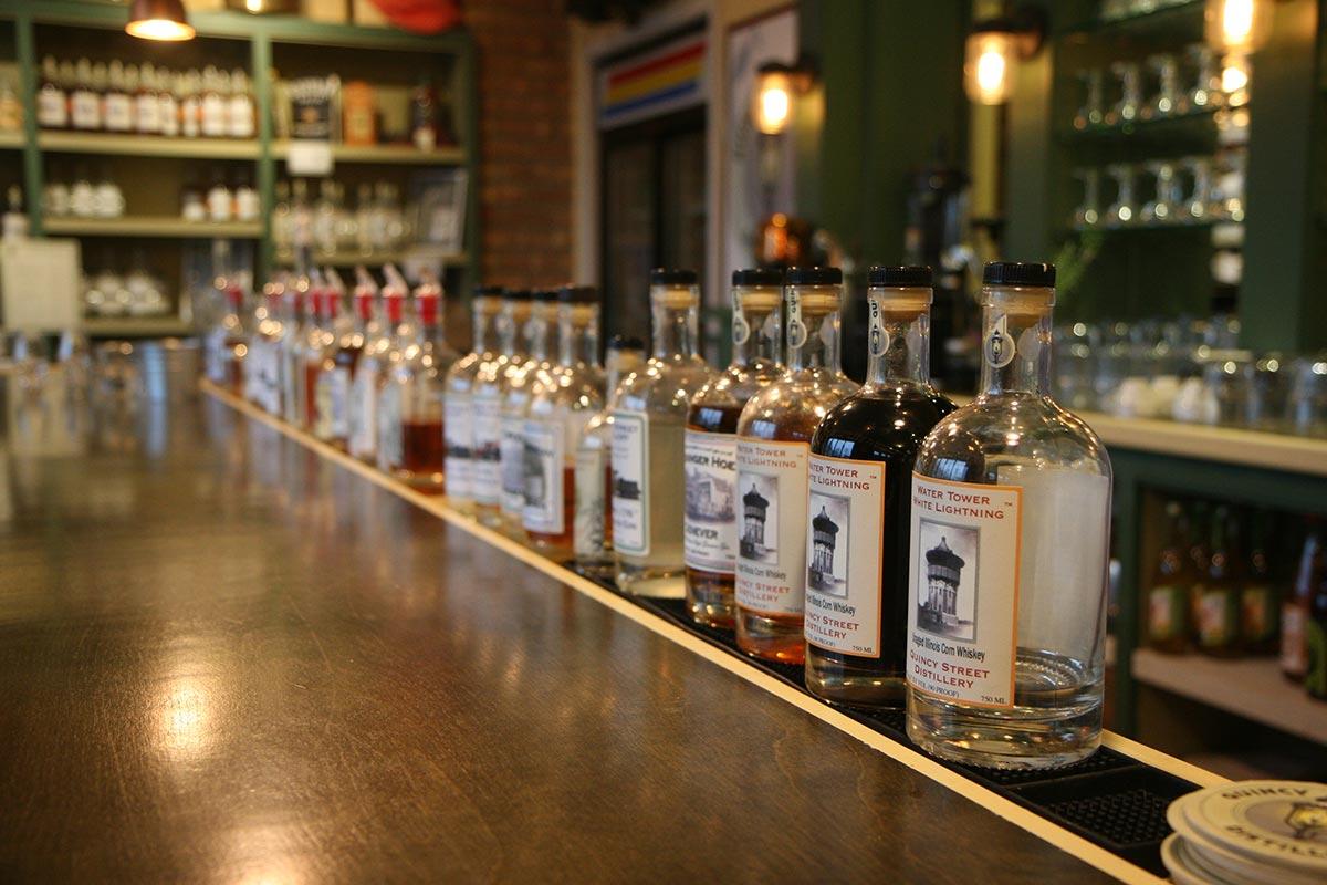 Quincy Street's bar