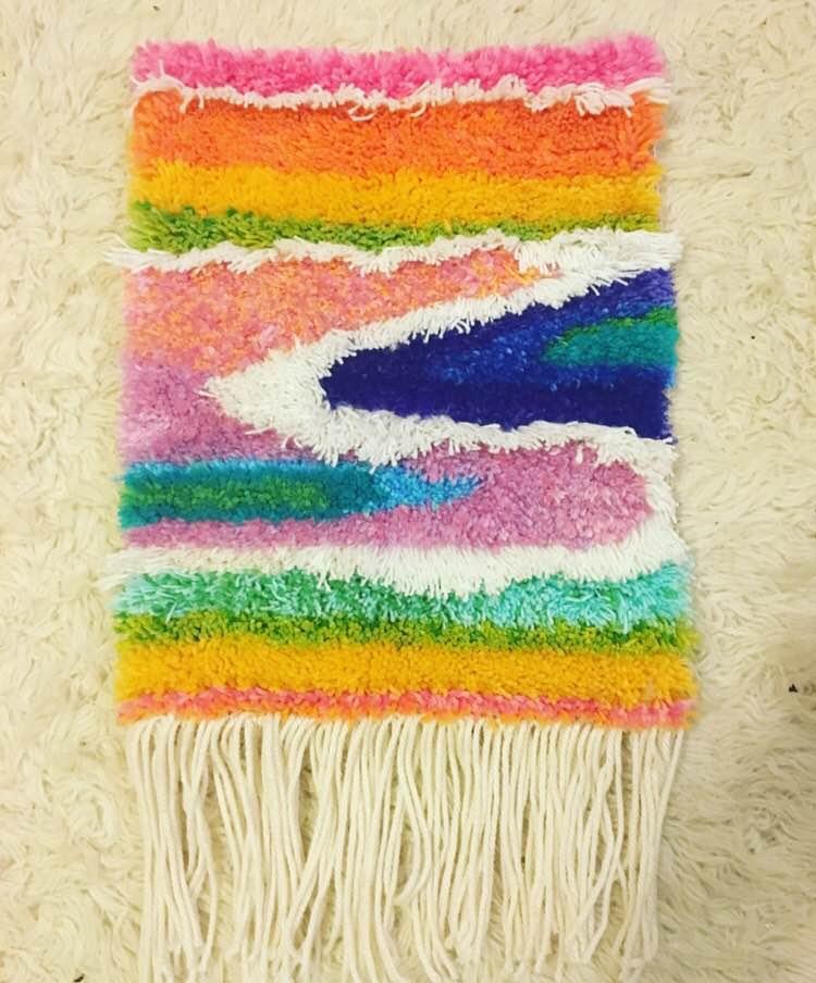 Tapestry made by Sara Basgall