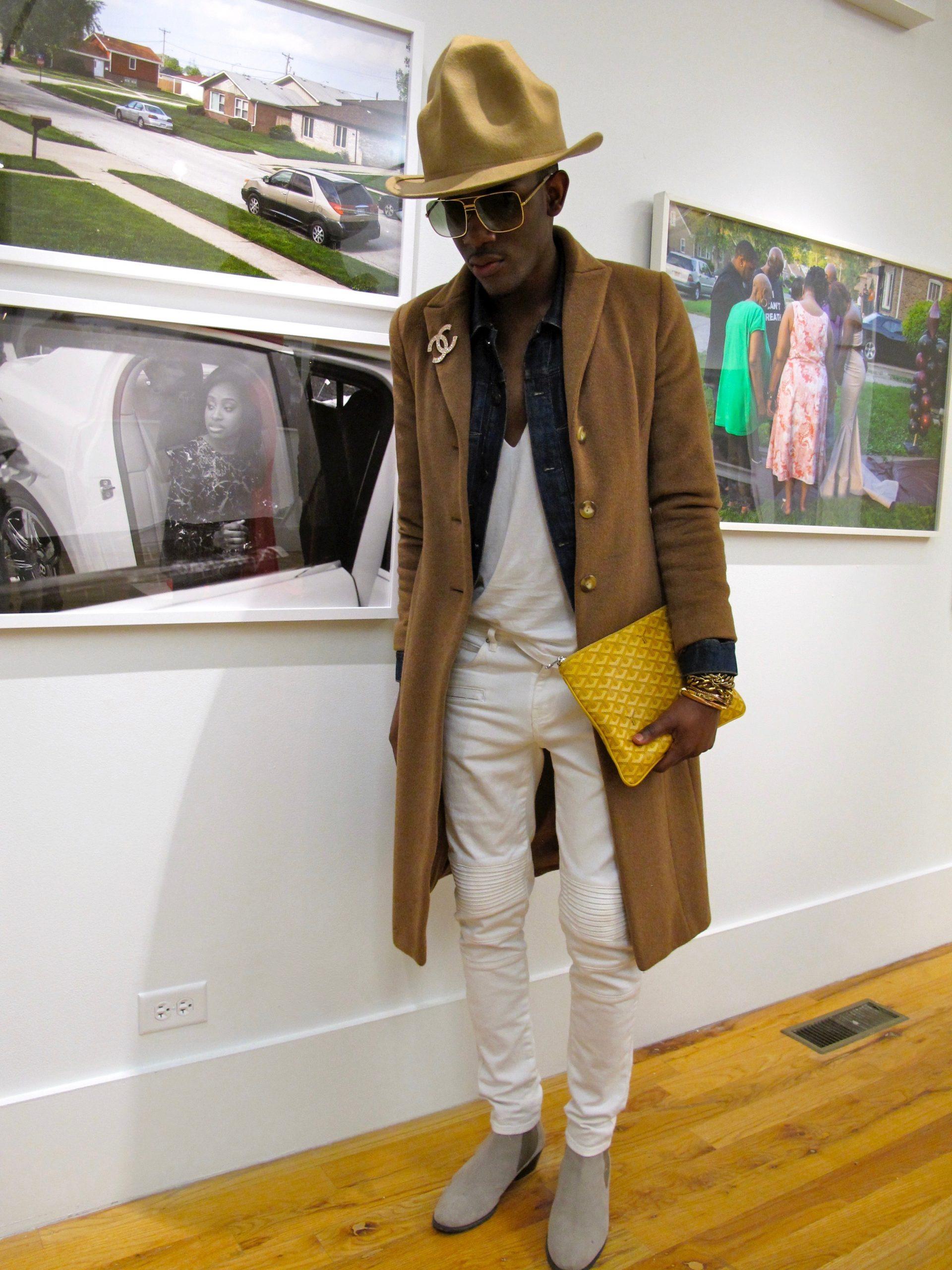 Wardrobe stylist Dutch Davis