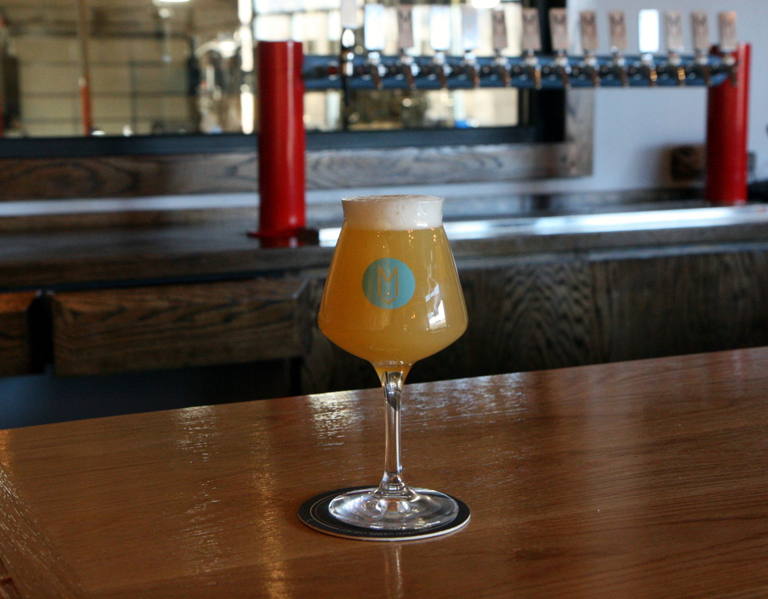 Fluffy Bottoms, a lactose pale ale that will be on tap at Maplewood Lounge