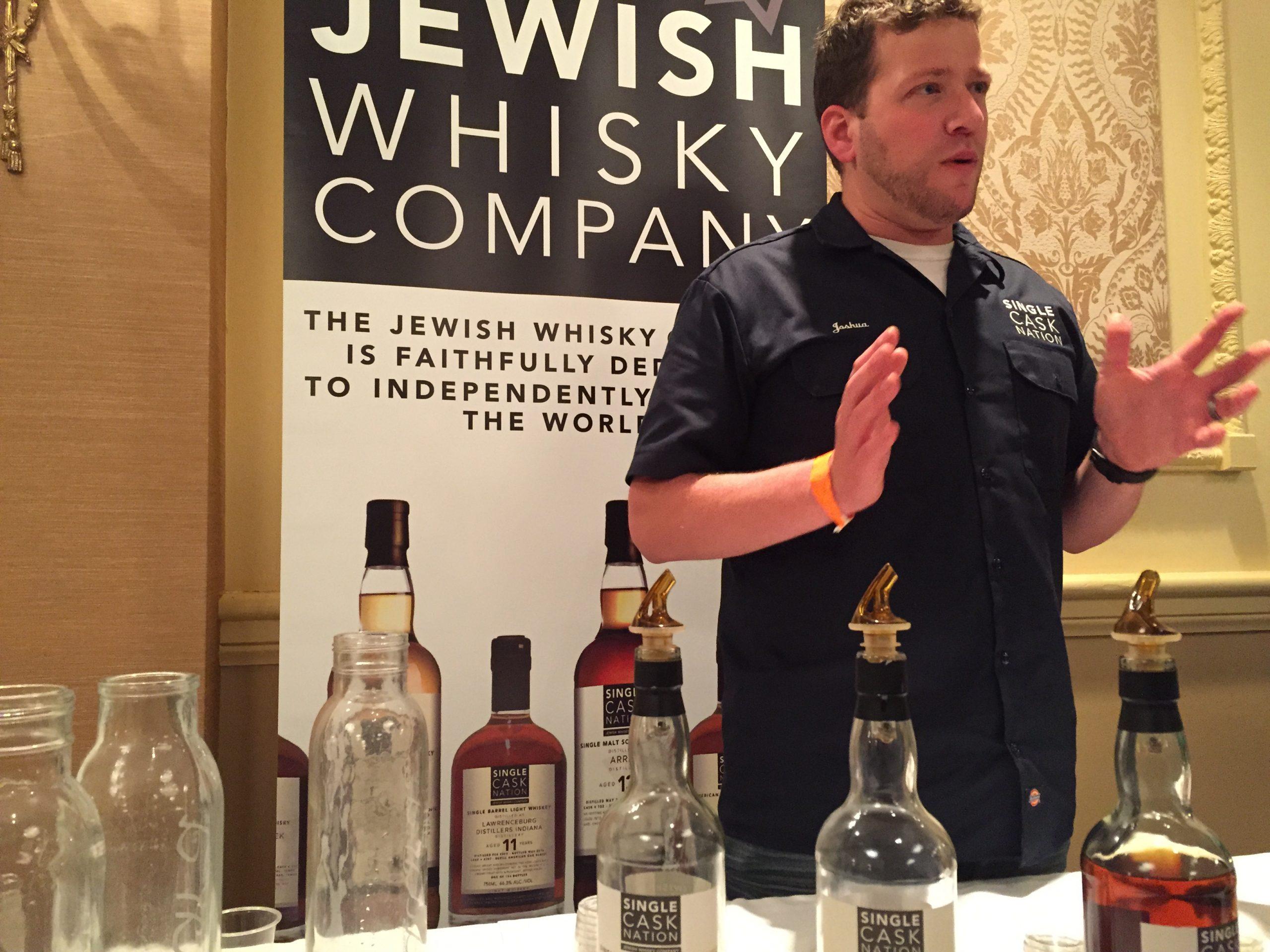Joshua Hatton of the Jewish Whisky Company