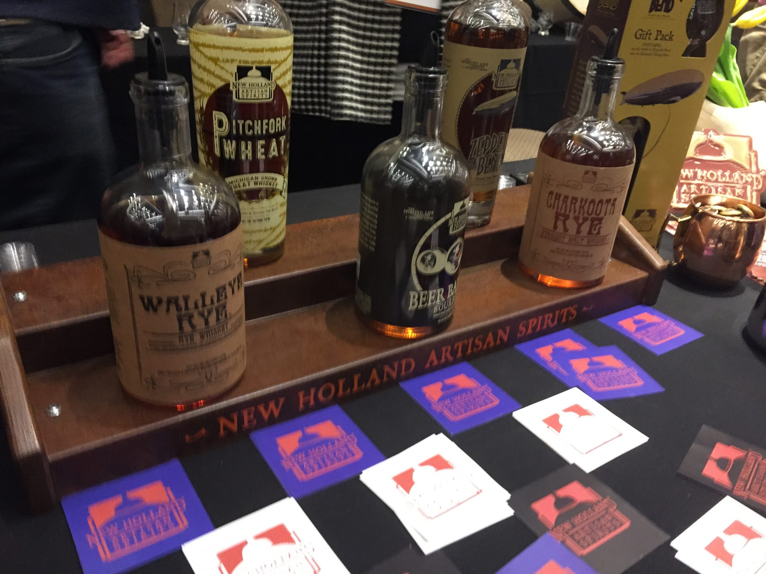 New Holland's whiskeys