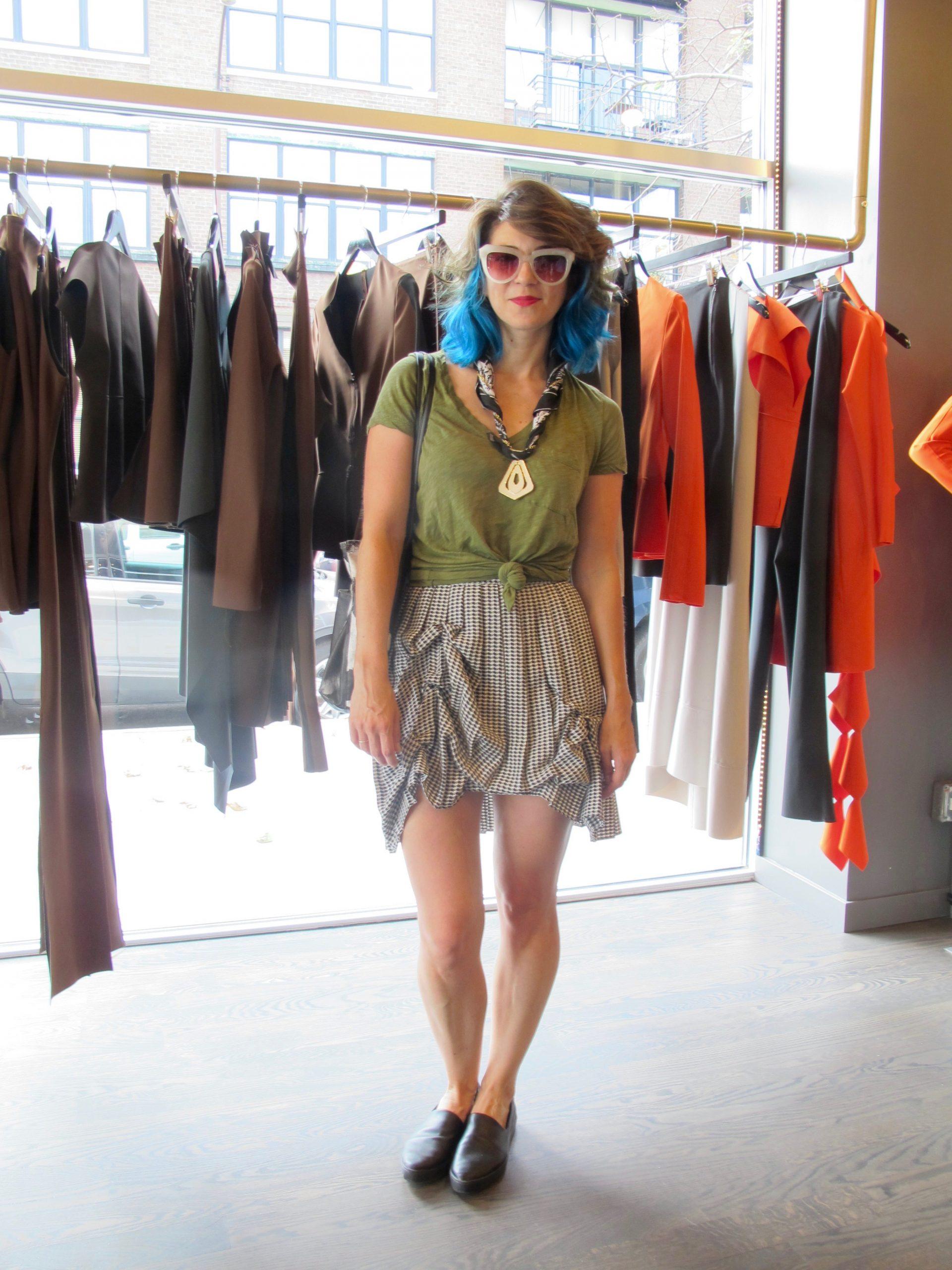 Wardrobe stylist Whitney Middleton