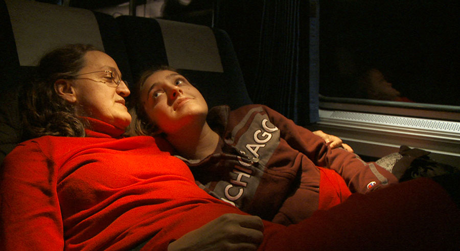 The final feature by the late <i>Grey Gardens</i> director Albert Maysles, <i>In Transit</i>, is currently playing at the Gene Siskel Film Center.