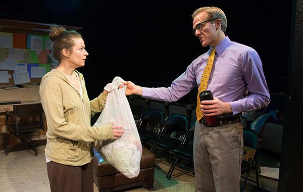 Strawdog Theatre's <i>In a Word</i>, with Mary Winn Heider and Gabe Franken
