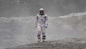 Matthew McConaughey in <i>Interstellar</i>