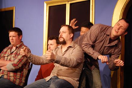 Armando Diaz Experiment at iO Theater