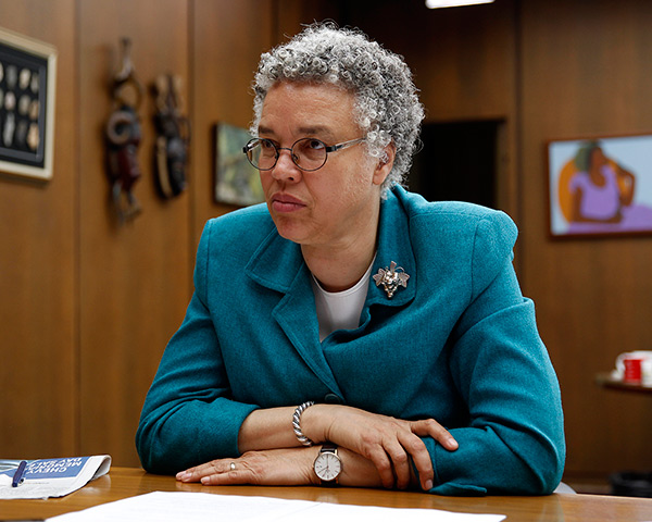 Cook County board president Toni Preckwinkle wants the authority to release some low-risk defendants from jail while they're awaiting trial.