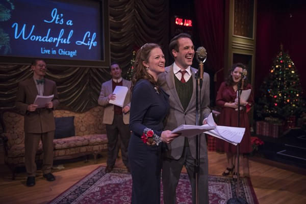 American Blues Theater's <i>It's a Wonderful Life: Live in Chicago!</i>