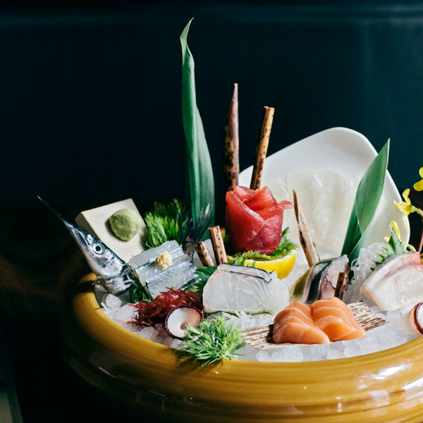 Some of the finest, freshest sashimi in the city