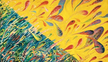 The Art of Dr. Seuss Gallery exhibits Ted Geisel's fine-art paintings, including <i>The Joyous Leaping of Uncanned Salmon</i>.
