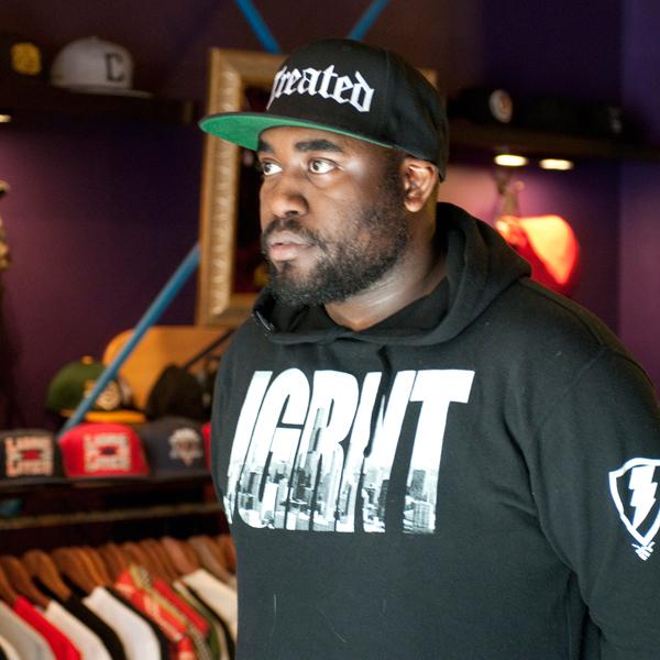 Rapper ShowYouSuck at Jugrnaut