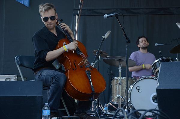 Julia Holter's cellist