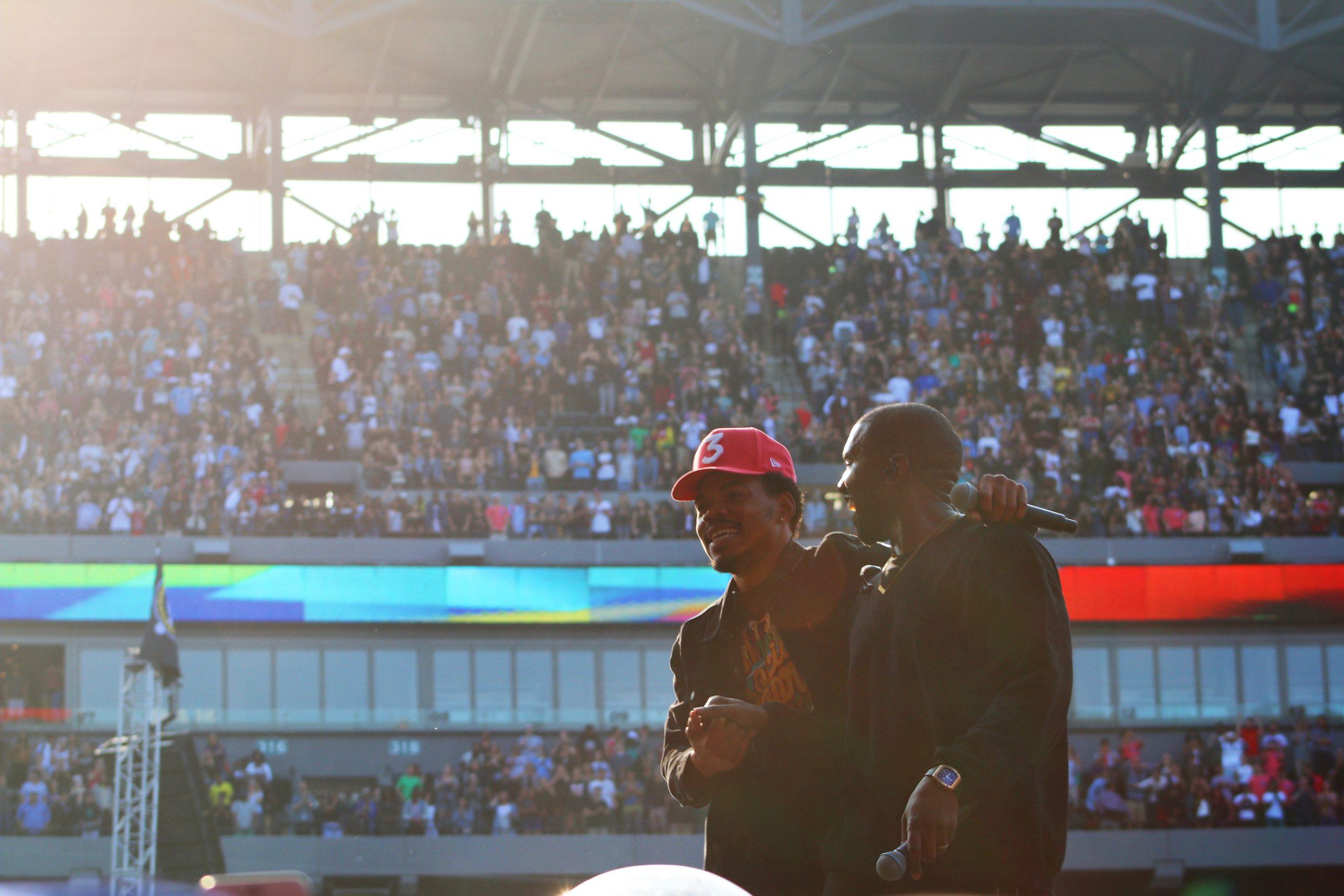 Chance and Kanye