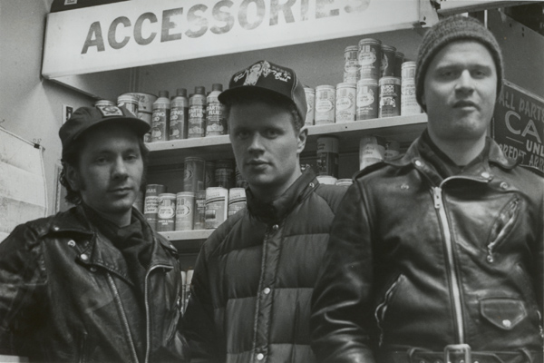 Michael Gerald, Dan Hobson, and Bill Hobson circa 1989