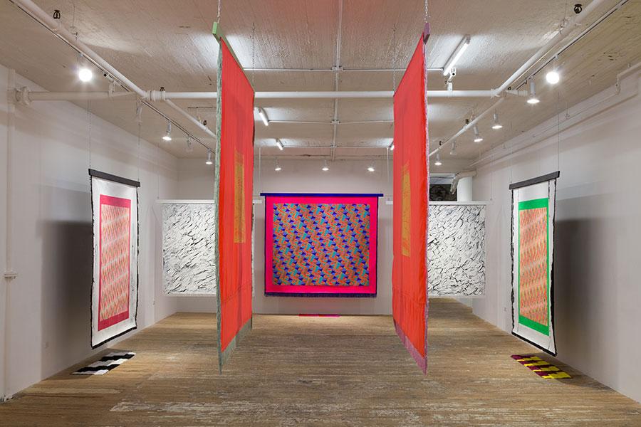 "Lisa Alvarado's solo show ""Sound Talisman"" at Bridget Donahue gallery in New York"