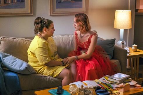 Saoirse Ronan stars in the Greta Gerwig film <i>Lady Bird</i>, considered an Academy Awards favorite.