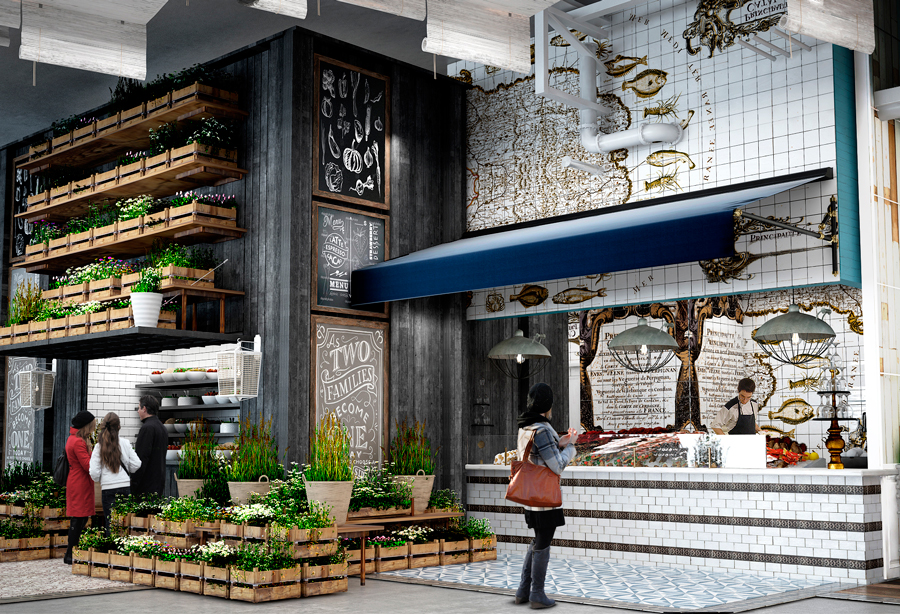 Latinicity is set to open inside Block 37 in October.