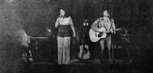 The only surviving photo of the 1970s Lavender Country lineup