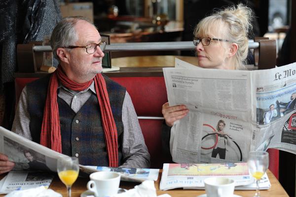 Lindsay Duncan and Jim Broadbent in Le Week-End