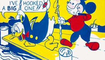 <i>Look Mickey</i> by Roy Lichtenstein