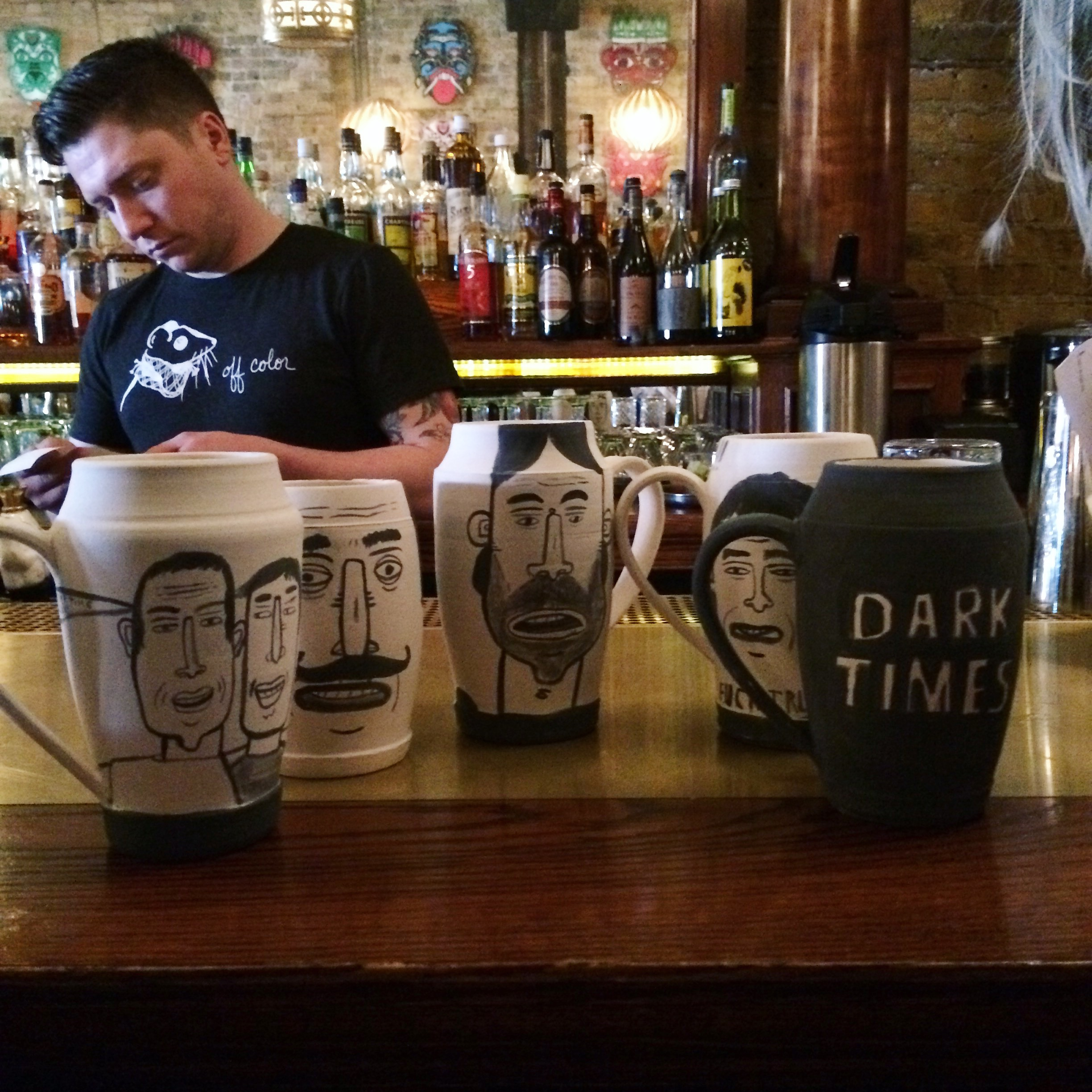 Mugs by Don't Fret at Gold Star