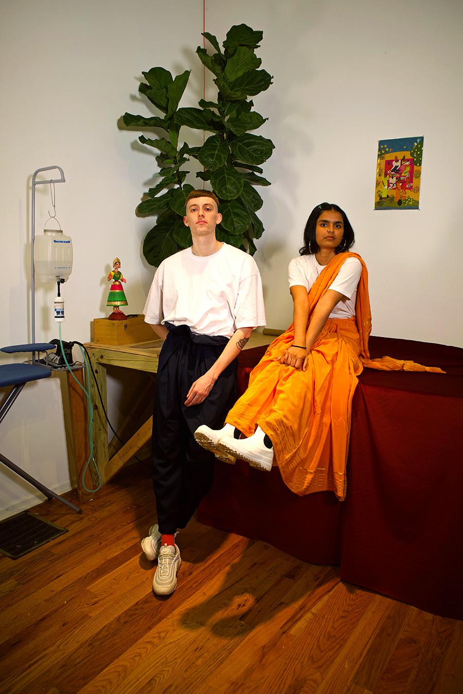 Miles Jackson and Vihanga Sontam