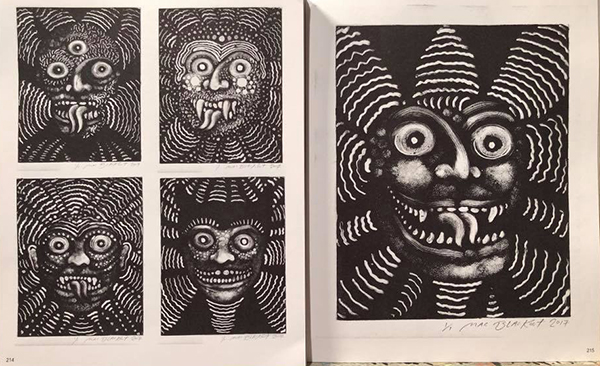 Pages from Mac Blackout's <i>Madman's Eye</i>