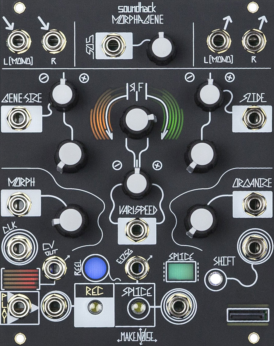 The Morphagene synthesizer module