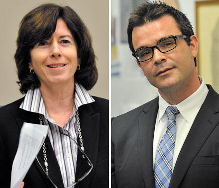 Margaret Laurino and Brian Bannon