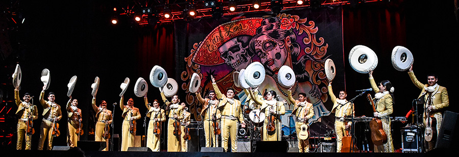 Mariachi Herencia de Mexico open for Los Lobos at Joe's Live in Rosemont on April 5.