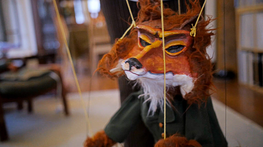 One of Kowal's puppets