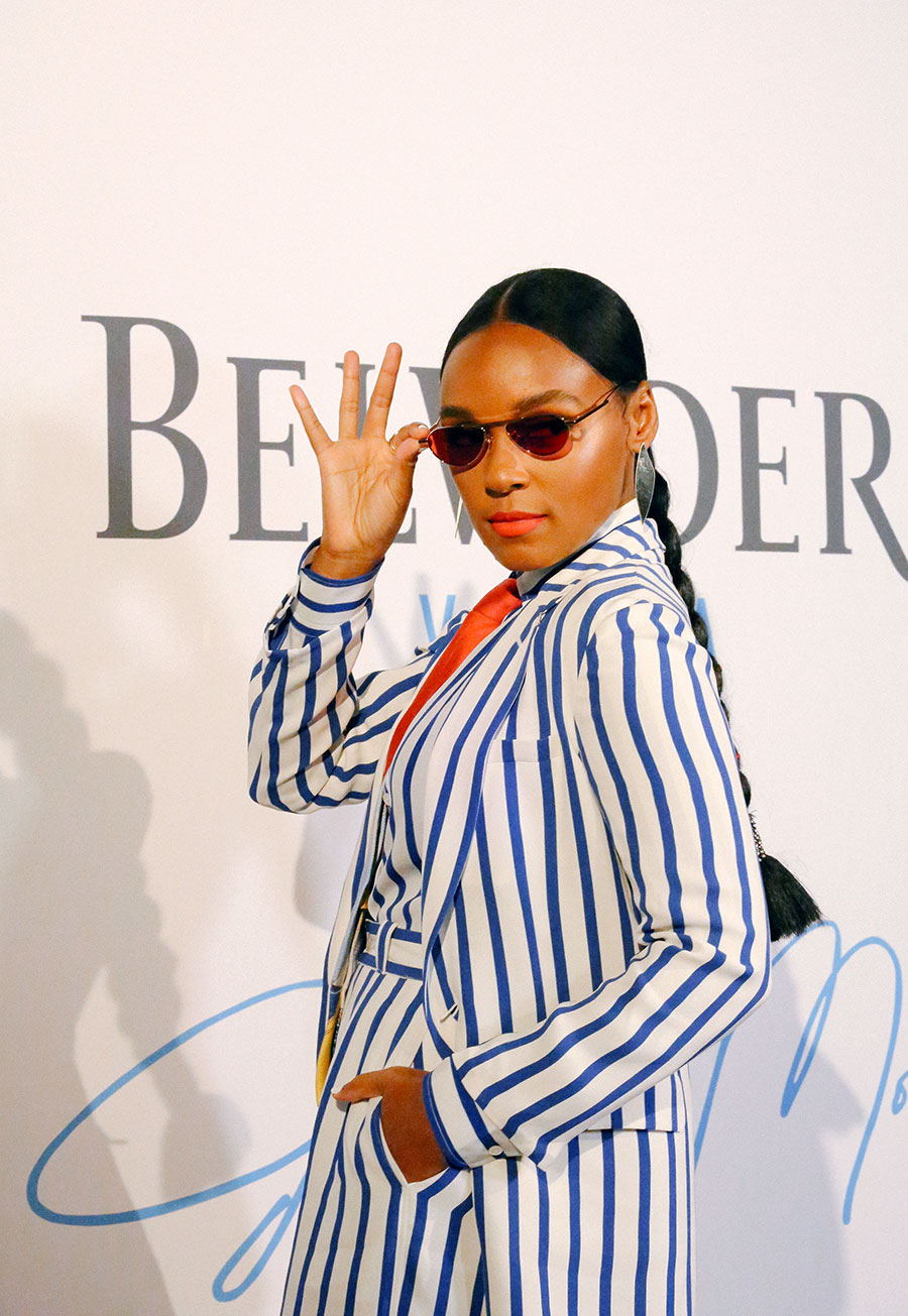 Monaé has partnered with Belvedere Vodka for the A Beautiful Future campaign.