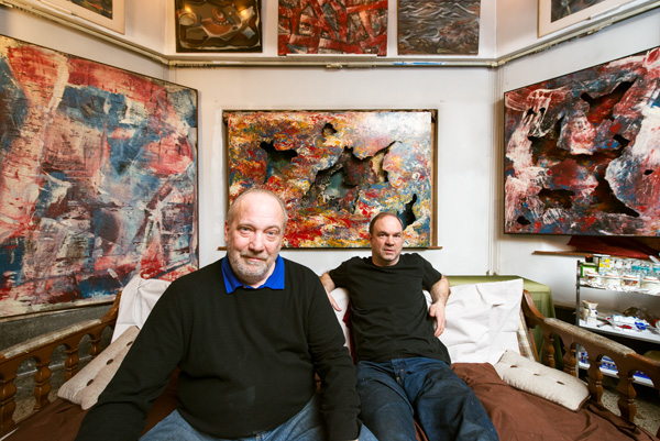 """Brothers Brad and Scott Meinecke are resurrecting the """"experimentalist"""" art of their late father, Tristan Meinecke."""