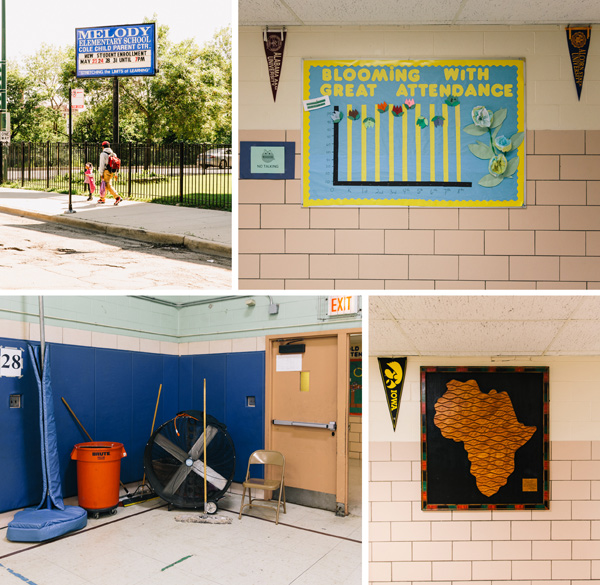 Like many Chicago Public Schools, Melody elementary, in West Garfield Park, is racially segregated and struggling with problems stemming from the poverty of its students.