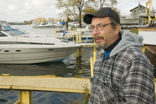 M&M Windjammer Marina, owned by Mike Olsen (pictured)