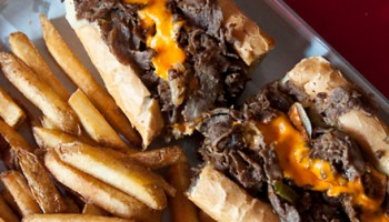 The cheesesteak at Monti's