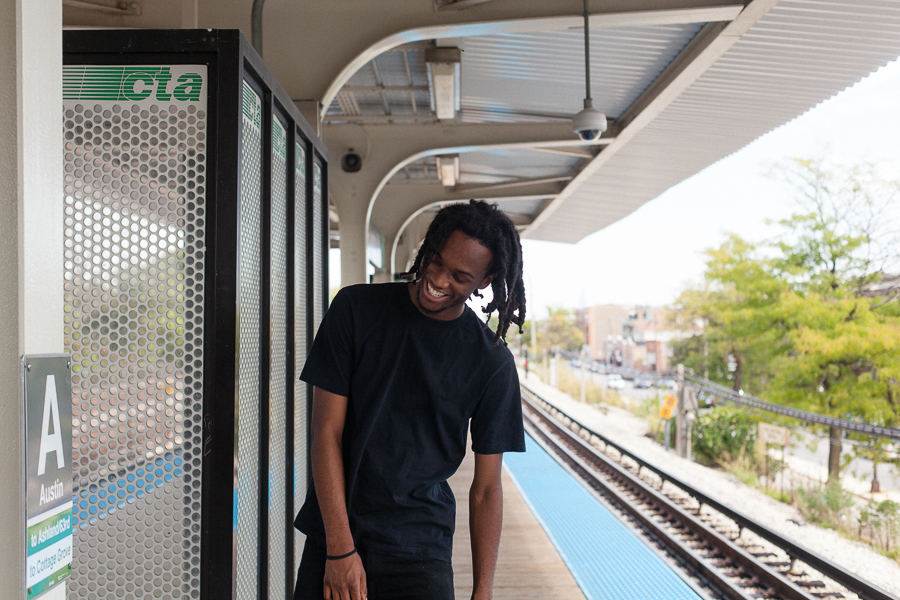 After Saba graduated high school at 16, the Austin Green Line stop became his doorway to Columbia College—and to the Harold Washington Library's YouMedia center, an incubator for hip-hop artists.