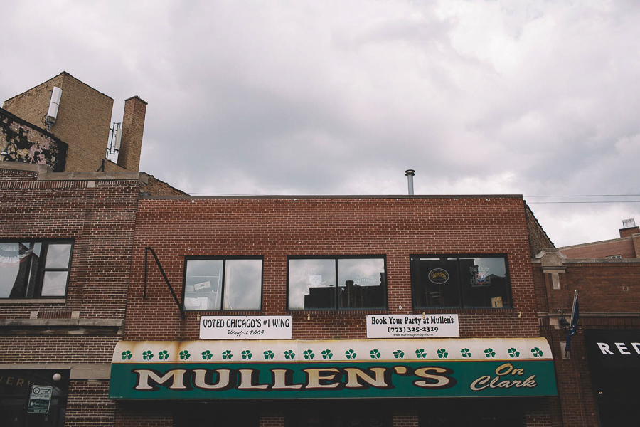 As part of a huge redevelopment project, a string of buildings that includes Mullen's on Clark will be demolished in the next few months.